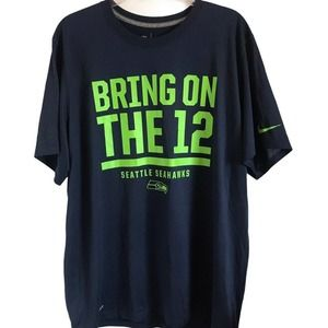 Seattle Seahawks Bring on the 12 Nike T-Shirt